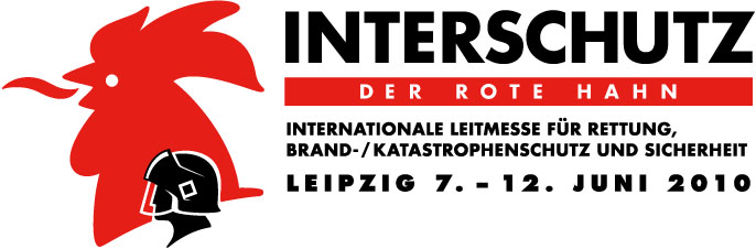 Logo der Interschutz 2010 in Leipzig